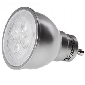 dimmbare led lampen f r gu10 sockel vier modelle als ersatz f r hochvolt halogenlampen im. Black Bedroom Furniture Sets. Home Design Ideas