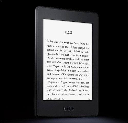 Kindle Paperwhite – einfacher und guter E-Book-Reader