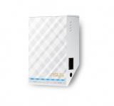 Asus RP-AC52 Dual-Band WLAN Repeater – Reichweitenverlängerer mit Radio und Nachtlicht
